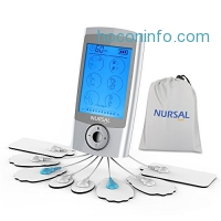 ihocon: NURSAL Rechargeable Tens Unit with 16 Modes and 8 Pads 止痛儀
