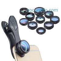 ihocon: APEXEL 10 In 1 Phone Lens Kit手機鏡頭