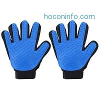 ihocon: Cymas Pet Grooming Glove(2-Pack, Right-Handed Only)寵物清毛手套