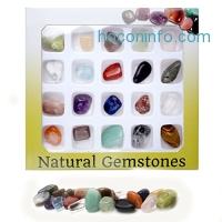 ihocon: QGEM 20x Mini Gemstone Kit 天然石頭樣本