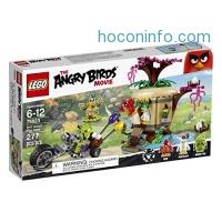 ihocon: LEGO Angry Birds 75823 Bird Island Egg Heist Building Kit (277 Piece)