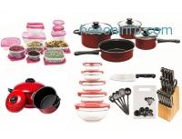 ihocon: Non-Stick Cookware Combo Set (84-Piece)