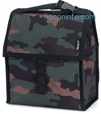 ihocon: PackIt Freezable Lunch Bag with Zip Closure, Classic Camo