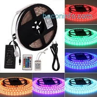 ihocon: Lightimetunnel LED Light Strip Color Changing Kit, 16.4ft 多色變換搖控燈條