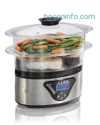 ihocon: Hamilton Beach Digital Food Steamer - 5.5 Quart (37530A)電蒸籠