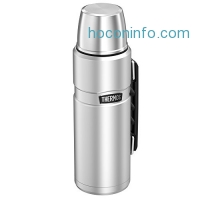 ihocon: Thermos Stainless King 40 Ounce Beverage Bottle, Stainless Steel
