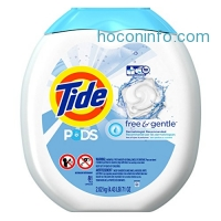 ihocon: Tide PODS Free & Gentle HE Turbo Laundry Detergent Pacs 81-load Tub