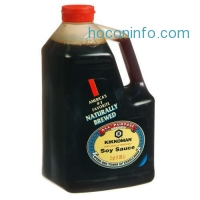 ihocon: Kikkoman Soy Sauce, 64-Ounce Bottle 萬字醬油