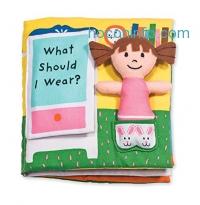 ihocon: Melissa & Doug Soft Activity Baby Book - What Should I Wear?