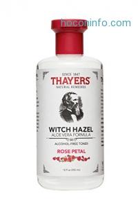 ihocon: Thayers Alcohol-Free Rose Petal Witch Hazel with Aloe Vera, 12 Fluid Ounce