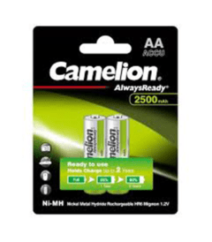 Camelion NH-AA2500BC2 AA Rechargeable Camera Battery