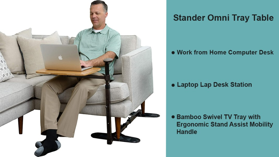 stander omni tray table
