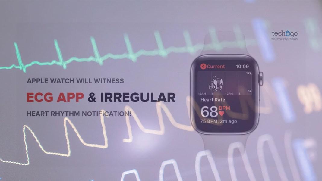 ecg on health app