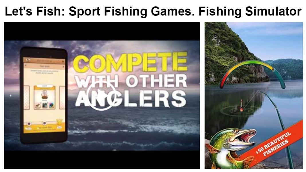 Let's Fish Sport Fishing Games. Fishing Simulator