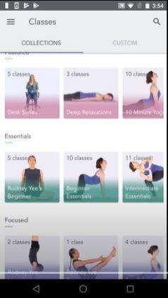 yoga studio app android