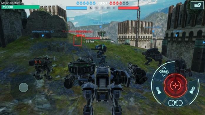 best robot in war robots