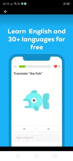 duolingo translation