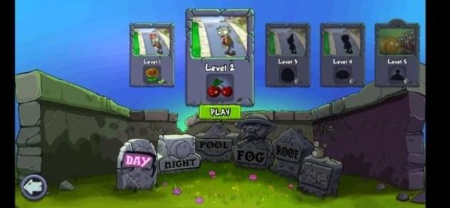 plants vs zombies game level