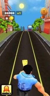 sponge subway endless run route