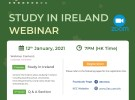 Study in Ireland Webinar - 12 Jan 2021