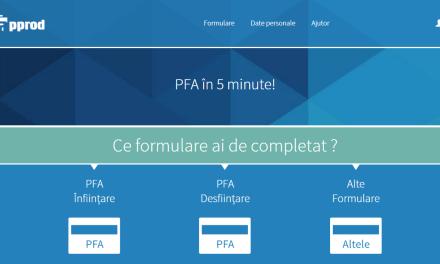 Recomandare utilă PFA