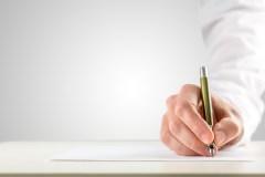 Handwriting anlysis