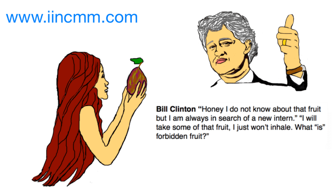 Bill Clinton and Eve