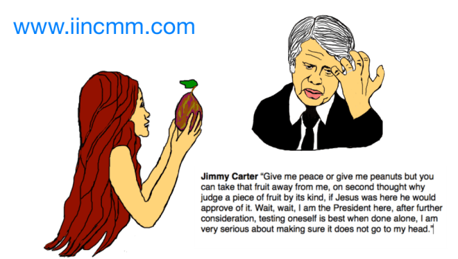 Jimmy Carter and Eve