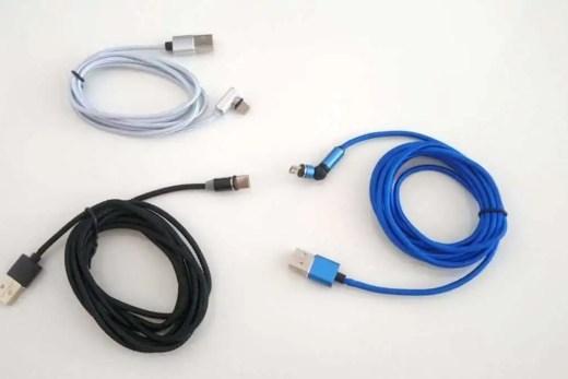 kabelki magnetyczne microusb, iphone, usb typ C
