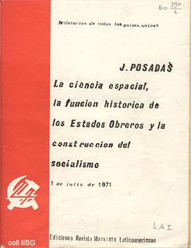 Juan Romulo Posadas e l'ufologia marxista