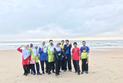 IIUM Kuantan – Petronas Love Our Beach Campaign