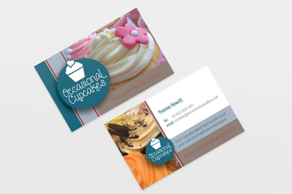 Occasional Cupcakes - Business Cards