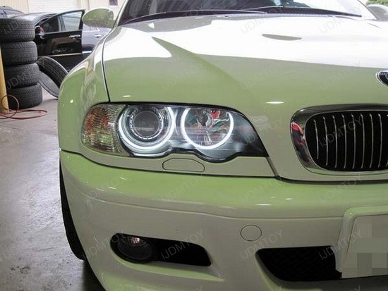 BMW E46 3 Series LED Angel Eyes Rings 3