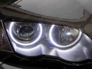 Cree Led Angel Eyes Halo Ring Marker Bulbs For Bmw E