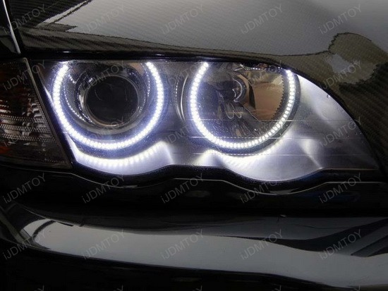 BMW E46 3 Series LED Angel Eyes 4