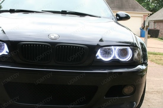 BMW M3 E46 3 Series LED Halo Rings 2