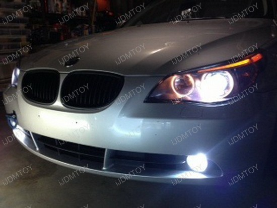 BMW 545i HID Fog Lights 3