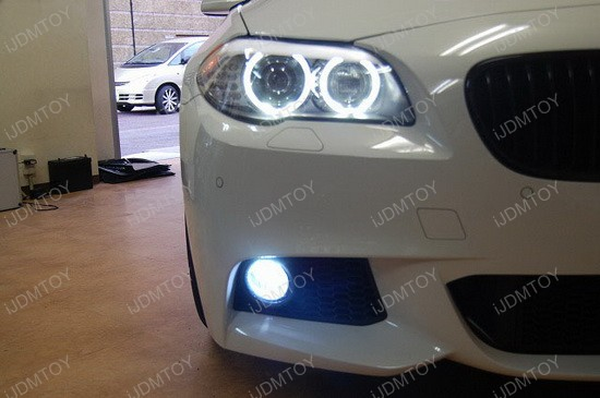 BMW F10 5 Series H11 Fog Lamp LED Bulbs 2