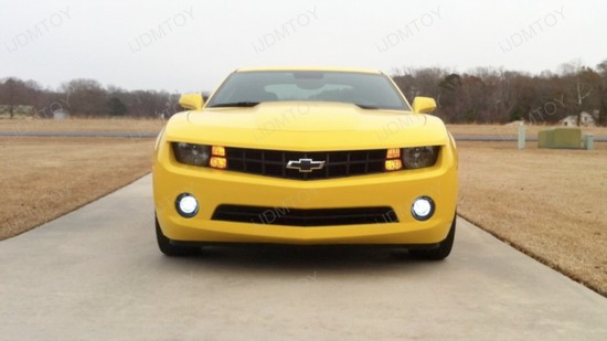 Chevy Camaro Switchback 3157 LED Turn Signal Light Bulbs 6