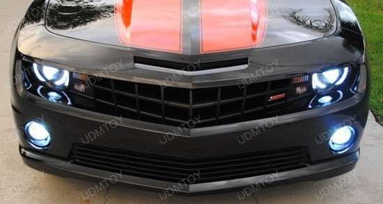 Chevy Camaro P13W CREE LED Fog Light Bulbs 2