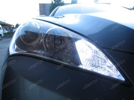Hyundai Genesis Coupe 1157 Switchback LED Bulbs 2
