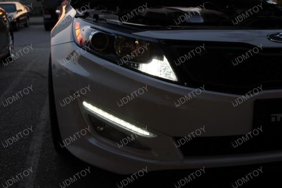Honda Civic Si LED Interior Strip Lights 1