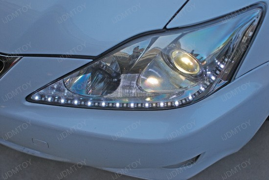 Lexus IS250 Switchback LED Strips 1