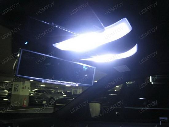 Mercedes LED Interior 2