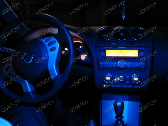 2009 Nissan Altima Interior Led Lights