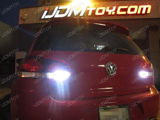 Volkswagen GTi Error Free 7440 LED Backup Reverse Lights 1