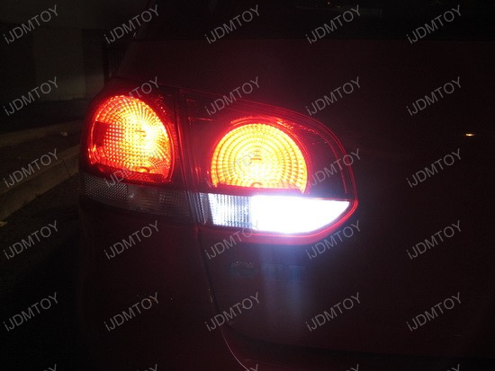 Volkswagen GTi Error Free 7440 LED Backup Reverse Lights 4