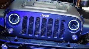 Jeep Wrangler CJ 40W High Power CREE 7 Inch Round LED