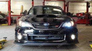 20W CREE Dual LED Fog Lights DRL for Subaru WRX STI Forester