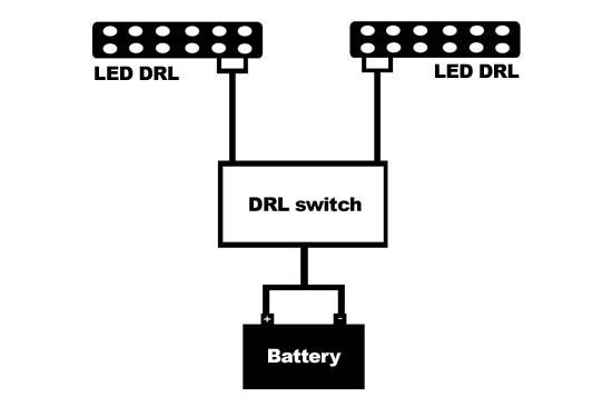 led daytime running lights and diagram for finding acc 12v